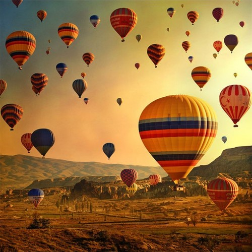 Hot Air Balloons, Turkey